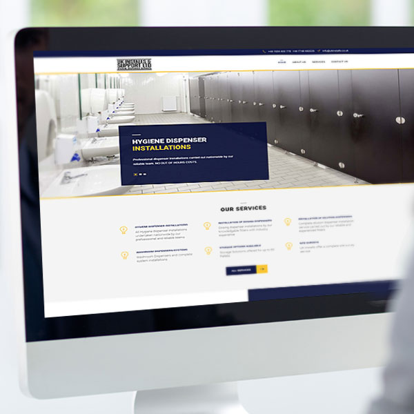 webdesgin for medway company eature