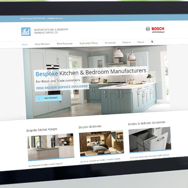 seo for kent based kitchen company feature
